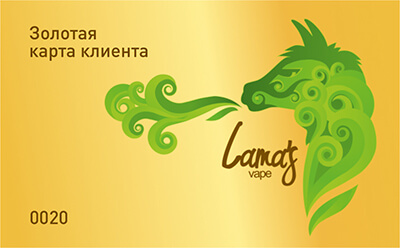 Lama's Vape Shop_3 портфолио
