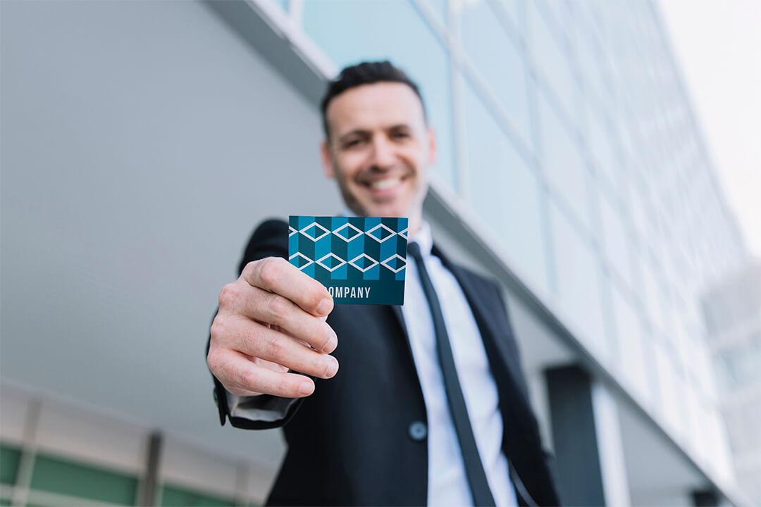 Визитка — лицо настоящего бизнесмена