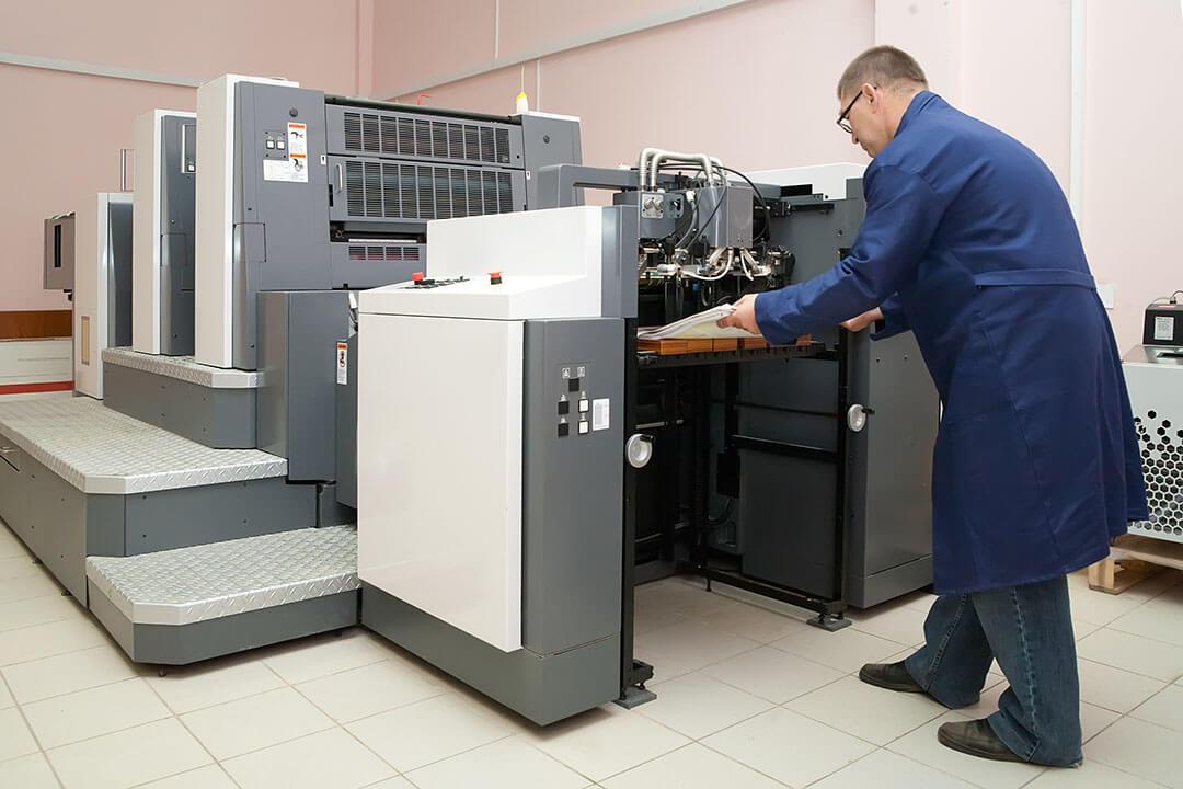 Офсетный печатный процесс – высокое качество полиграфии