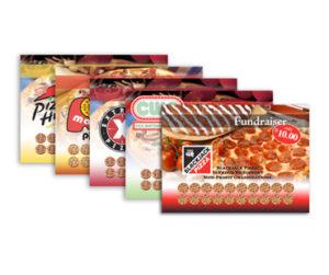 Пластиковые карты для пиццерии